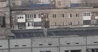 В Омске с крыши девятиэтажки пыталась прыгнуть женщина