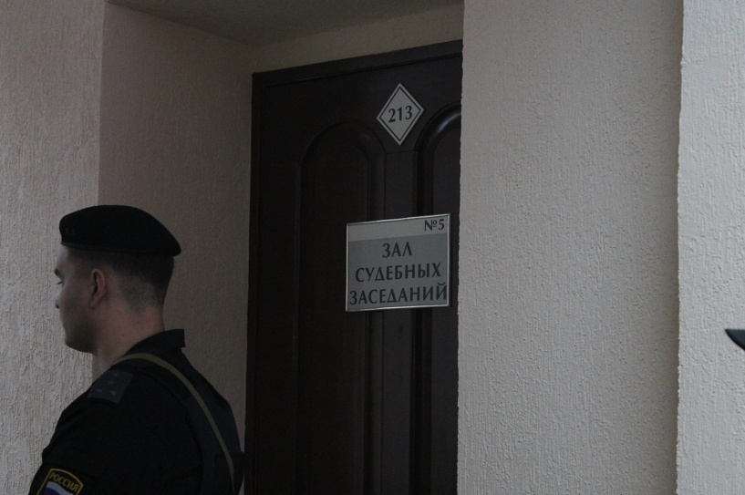 Омских журналистов не пустили на суд по «делу Лебедова»
