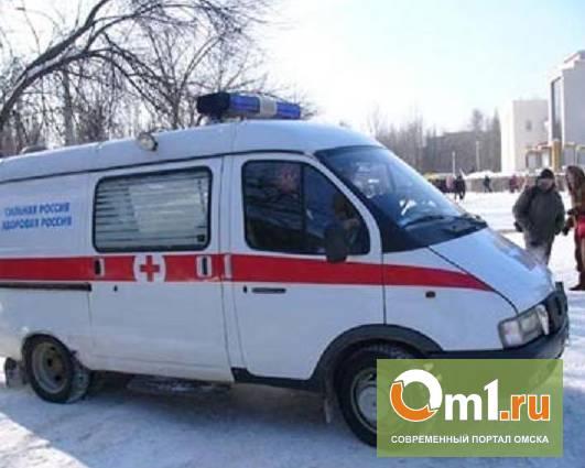В Омске на улице Красный путь иномарка сбила пешехода