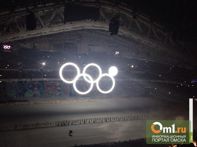 На открытии Олимпиады омичи играли в Angry Birds и Xbox 360