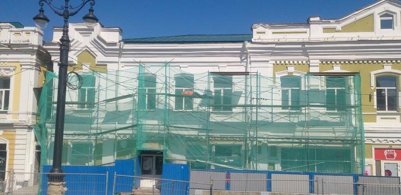 Рабочий, занятый на реконструкции улицы Ленина, стал героем в соцсетях