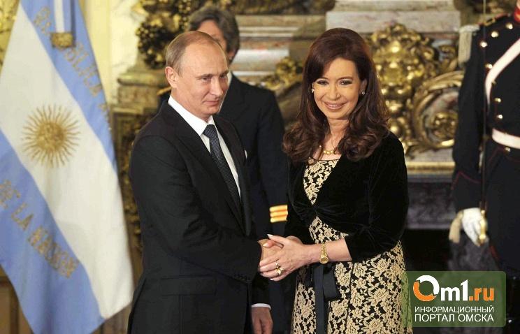Президент Аргентины подарила Путину инструмент для танго — бандонеон