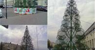 У «Каскада» в Омске уже поставили новогоднюю елку