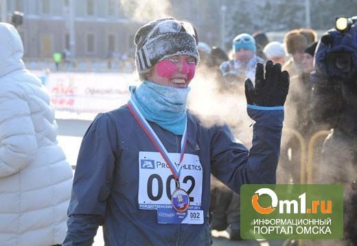 Омским марафонцам, оказывается, нравится бегать при +5
