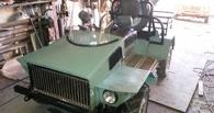 Омичи собрали квадроцикл на базе автомобиля ВАЗ-2121