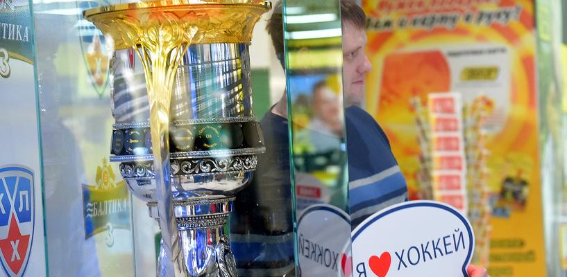 К Кубку Гагарина в Омске выстроилась очередь из болельщиков