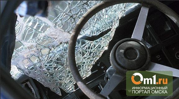В Омске ночью за полчаса сразу двое погибли в ДТП