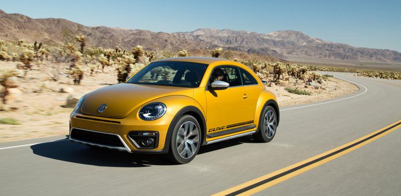 Пустынный Жук: Volkswagen сделал из Beetle «внедорожник»