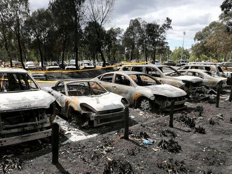 За прошедшие праздничные дни в Омской области сгорело 9 автомобилей