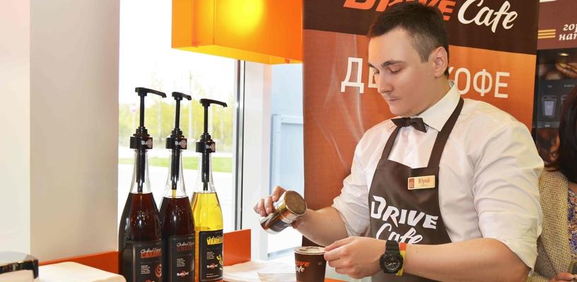 Сеть АЗС «Газпромнефть» представила кофе под собственной торговой маркой Drive Café