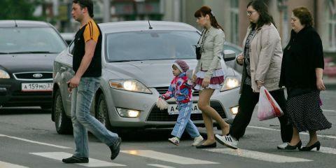 В Омске Форд сбил пятилетнего ребенка