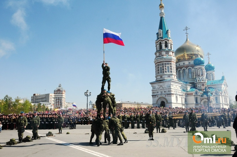 Парад Победы в Омске увидели лишь избранные