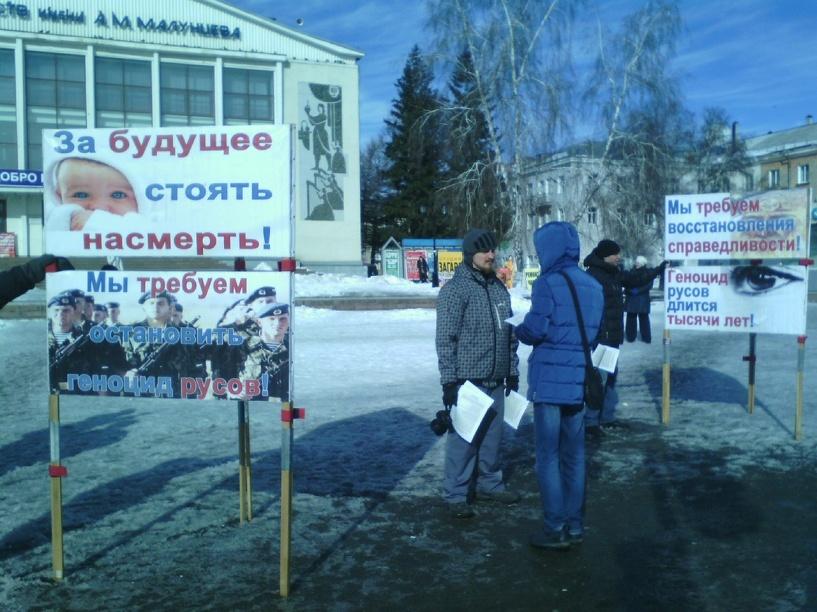 В Омске проходит пикет против алкоголя