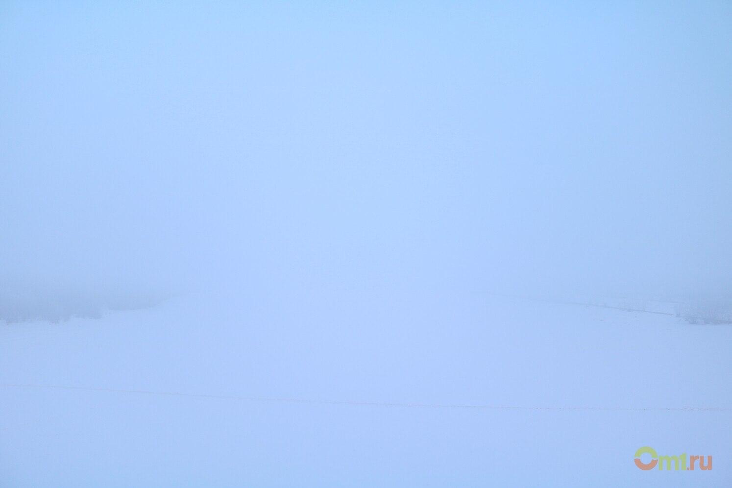 ВГидрометцентре рассказали, что утром Омск накрыл радиационный туман