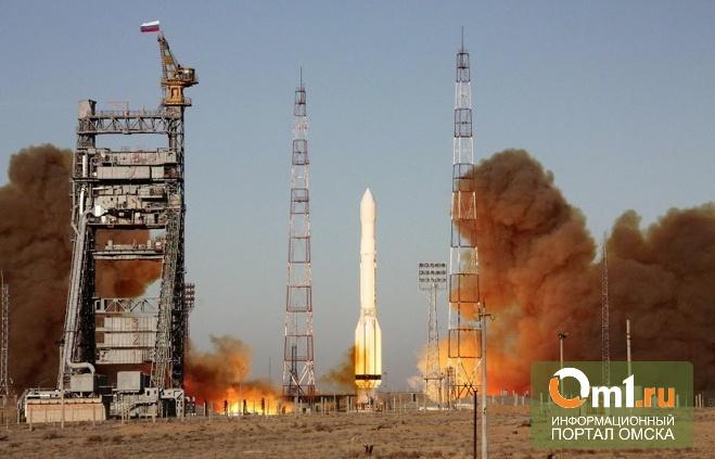 Ракета «Протон-М» со спутником сгорела после старта с Байконура