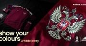 Adidas показал форму сборной России по футболу на ЧМ-2014