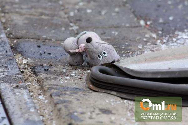 В Омске водитель иномарки сбил девочку