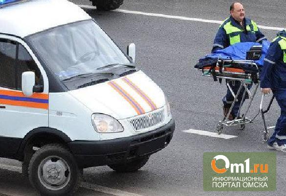 В Омске водитель без прав врезался в машину: пострадал ребенок