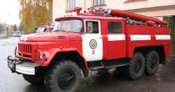 В центре Омска горела крыша кафе