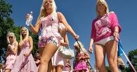 По Омску пройдут блондинки в розовом