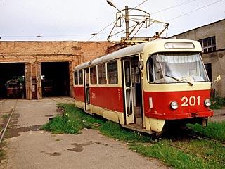 В Омске частично закрывают движение трамваев