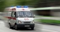Под Омском погиб водитель иномарки, опрокинувшись в кювет