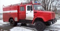 В Омске на улице Дианова сгорел торговый павильон