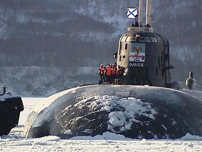 Атомный ракетный крейсер «Омск» признали лучшим в Военно-Морском флоте России