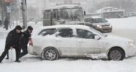ДТП продолжаются: на дорогах Омска снова пробки