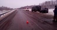 На трассе Тюмень – Омск снова сбили пешехода