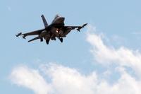 На границе с Сирией разбился турецкий истребитель