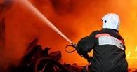 В Омске 50 человек эвакуировано из-за горящего мусора на социальном рынке