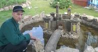 Омские заключенные построили в колонии средневековый замок