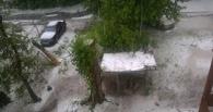 Циклон, который принес в Омск град и ливень, уходит из области