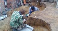 Под омским Никольским собором обнаружено захоронение бронзового века