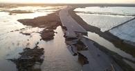 Трассу Омск — Тара перекрыли из-за паводка