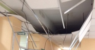 В Омской детской поликлинике обвалился подвесной потолок