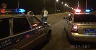 В Омске 15-летний мальчик, уходя от погони ДПС, слетел в кювет — видео