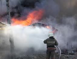 В Омской области на пожаре в частном доме погиб мужчина