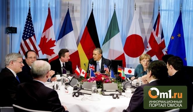 Лидеры «семерки» решили пока не вводить новые санкции против России