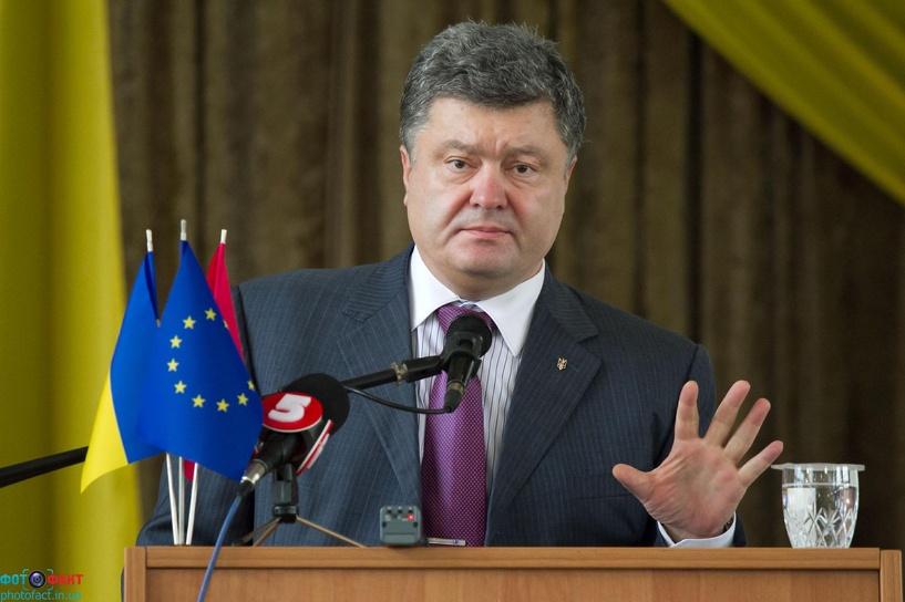 Порошенко заявил о задержании корректировщика огня по Мариуполю из числа ополченцев