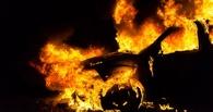 У двух омичей в дороге загорелись автомобили