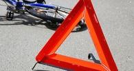 В центре Омска пострадал девятилетний пассажир велосипедиста