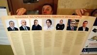 Жители Армении выбирают нового президента