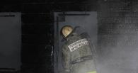 В центре Омска горел брусовый дом. Погиб человек