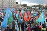На митинг в поддержку Пономарева собралось около тысячи омичей