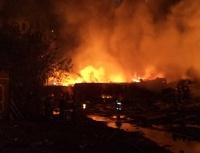 В Ростовской области сошел с рельс и загорелся состав с горючим