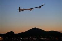 Самолет на солнечных батареях завершил перелет через США