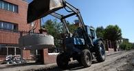 В Омске на строительство пешеходных дорожек выделено 20 млн рублей