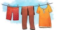 В Омской области вахтовик украл одежду с бельевой верёвки, чтобы скрыть другое преступление